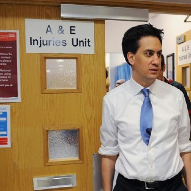 Lancaster And Morecambe Citizen: Ed Miliband said Labour's health plan would give NHS patients a greater say on their care