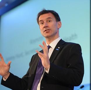 Lancaster And Morecambe Citizen: Jeremy Hunt says the NHS is 'on the cusp' of an exciting technological revolution
