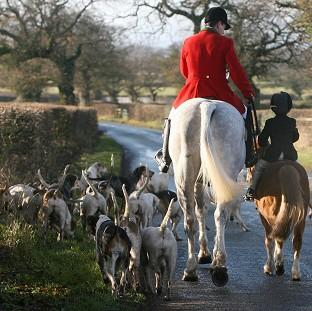 Lancaster And Morecambe Citizen: Campaigners want the Government to scrap a ban on hunters using more than two dogs to flush out foxes