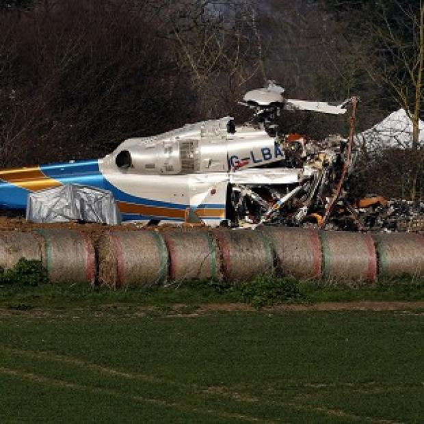 Lancaster And Morecambe Citizen: Investigators have begun recovering debris from last week's fatal helicopter crash in Norfolk