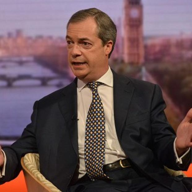 Lancaster And Morecambe Citizen: Ukip leader Nigel Farage reiterated denials to claims that he had an affair with his spokeswoman Annabelle Fuller