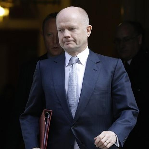 "Lancaster And Morecambe Citizen: Foreign Secretary William Hague denounced the Crimea referendum as a ""mockery of proper democratic practice"""
