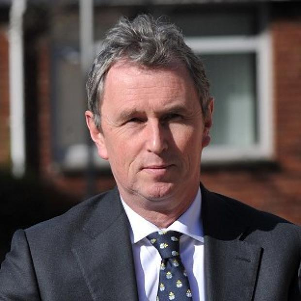 Lancaster And Morecambe Citizen: Former deputy speaker of the House of Commons Nigel Evans arrives at Preston Crown Court where he faces nine charges of sexual offences against seven men