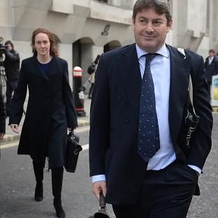 Lancaster And Morecambe Citizen: Charlie Brooks and his wife, former News International chief executive Rebekah Brooks, leave the Old Bailey in London