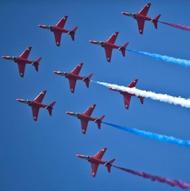 Lancaster And Morecambe Citizen: A three-minute video has been posted online that puts the viewer in the passenger seat of a Red Arrows plane during a practice session