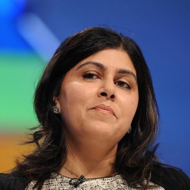 Lancaster And Morecambe Citizen: Baroness Warsi defended party chairman Grant Shapps