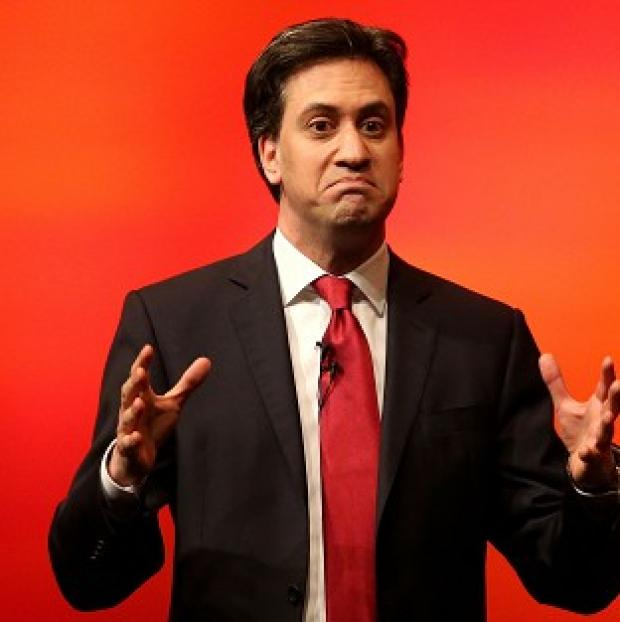 Lancaster And Morecambe Citizen: Labour leader Ed Miliband accepts that there are issue with the NHS in Wales