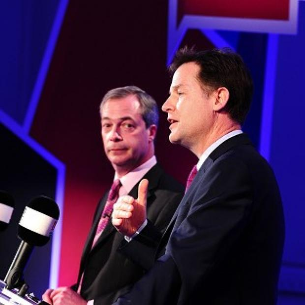 Lancaster And Morecambe Citizen: Nick Clegg and Ukip leader Nigel Farage will hold another debate on Wednesday