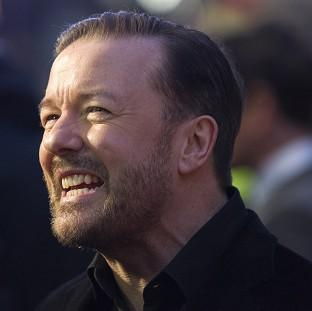 Lancaster And Morecambe Citizen: Office star Ricky Gervais revealed he has been offered a  Glastonbury Festival slot and that he is pro-euthanasia, joking that he hopes one day he can ask a chemist for a pill to die