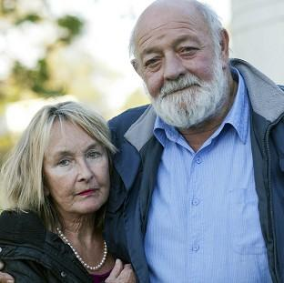 Lancaster And Morecambe Citizen: June Steenkamp and her husband Barry (Channel 5/PA)