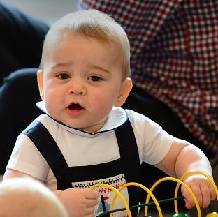 Lancaster And Morecambe Citizen: Prince George has received a series of matrimonial offers while in New Zealand, his father has joked