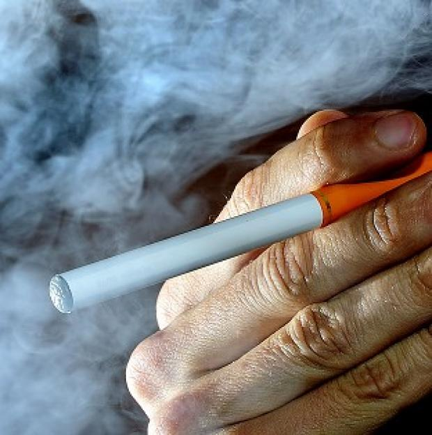 Lancaster And Morecambe Citizen: Firefighters have warned of the dangers of e-cigarettes