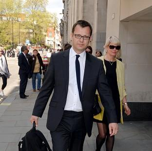 Lancaster And Morecambe Citizen: Former News of the World editor Andy Coulson outside the Old Bailey