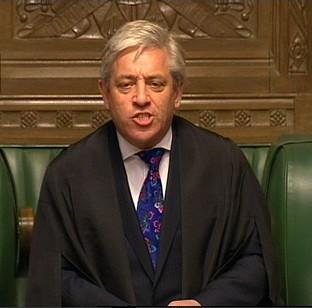 "Lancaster And Morecambe Citizen: John Bercow says Parliament is ""spray painting its own shop window"""