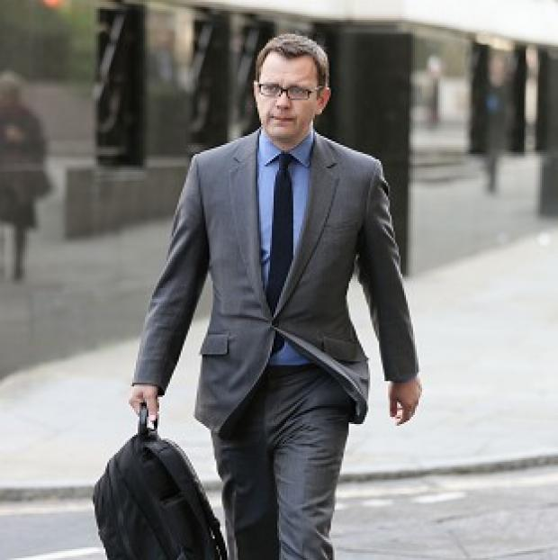 Lancaster And Morecambe Citizen: Former News of the World editor Andy Coulson arrives at the Old Bailey, as the phone-hacking trial continues