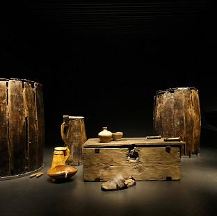 Lancaster And Morecambe Citizen: Artifacts brought from the sea bed of The Solent and preserved on display at the new Mary Rose Museum