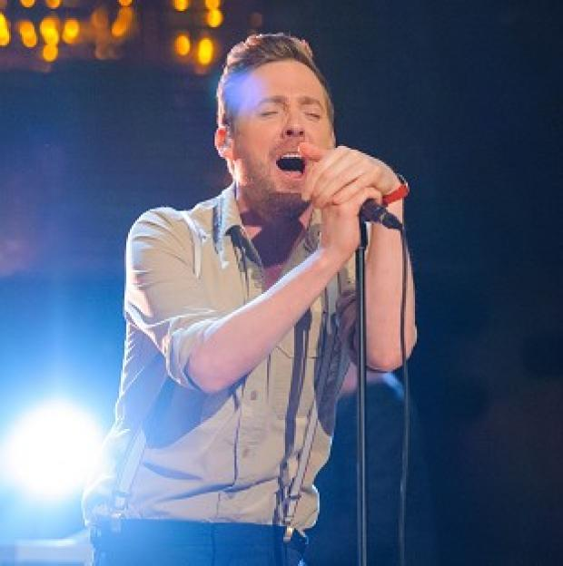 Lancaster And Morecambe Citizen: Ricky Wilson is waiting to hear about his future on The Voice
