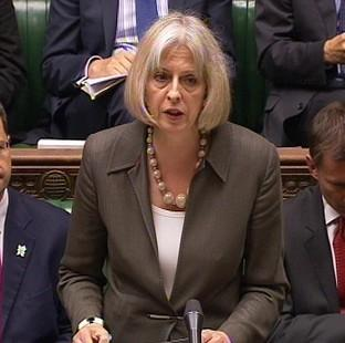 Lancaster And Morecambe Citizen: Home Secretary Theresa May is one of three female Cabinet members