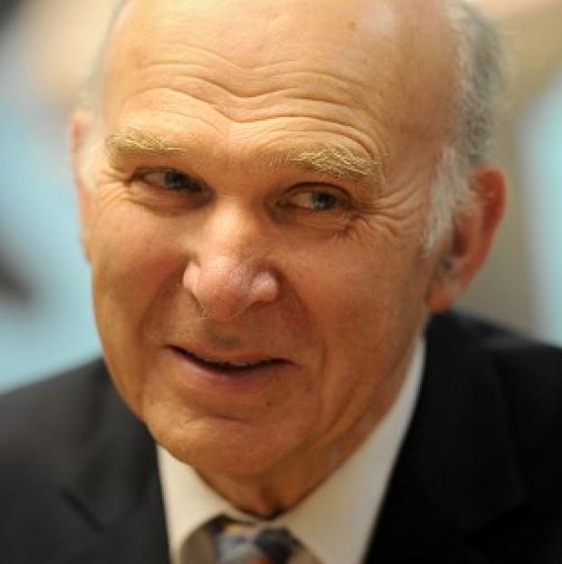 Lancaster And Morecambe Citizen: Vince Cable said he was confident that work on developing individual sectors of industry had cross-party support