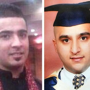 Lancaster And Morecambe Citizen: Haroon Jahan, left, and Shazad Ali, both died when they were mowed down by a car while protecting their community from looters in Birmingham.
