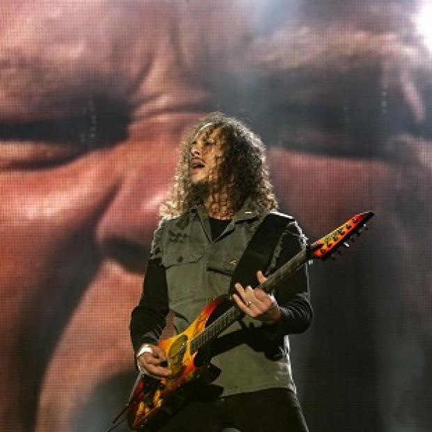 Lancaster And Morecambe Citizen: Metallica will headline at the Glastonbury festival