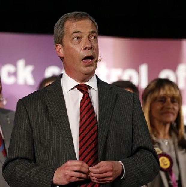 Lancaster And Morecambe Citizen: Nigel Farage has condemned the often violent nature of protests against him