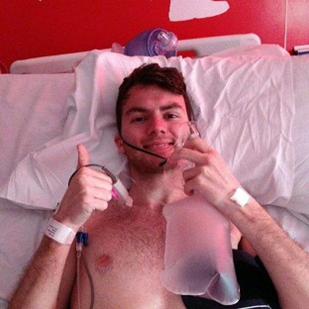 Lancaster And Morecambe Citizen: Stephen Sutton, 19, says he feels some anger over his late diagnosis