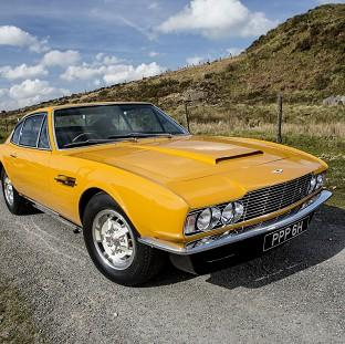 Lancaster And Morecambe Citizen: The famed 1970 Aston Martin DBS which starred in the hit British television series The Persuaders! sold for �533,500
