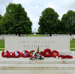 Lancaster And Morecambe Citizen: The Bayeux War Cemetery in Normandy, ahead of preparations to mark the 70th anniversary of the Normandy landings