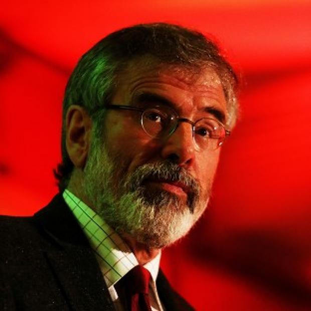 Lancaster And Morecambe Citizen: The arrest of Sinn Fein leader Gerry Adams has not affected the party's standing in the polls, it is claimed