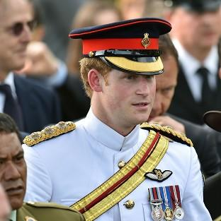 Lancaster And Morecambe Citizen: Prince Harry attends a New Zealand commemoration at the Cassino War Cemetery on his tour to Italy