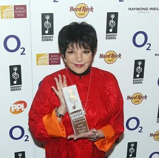 Lancaster And Morecambe Citizen: Liza Minnelli has cancelled a series of concerts because of a medical condition