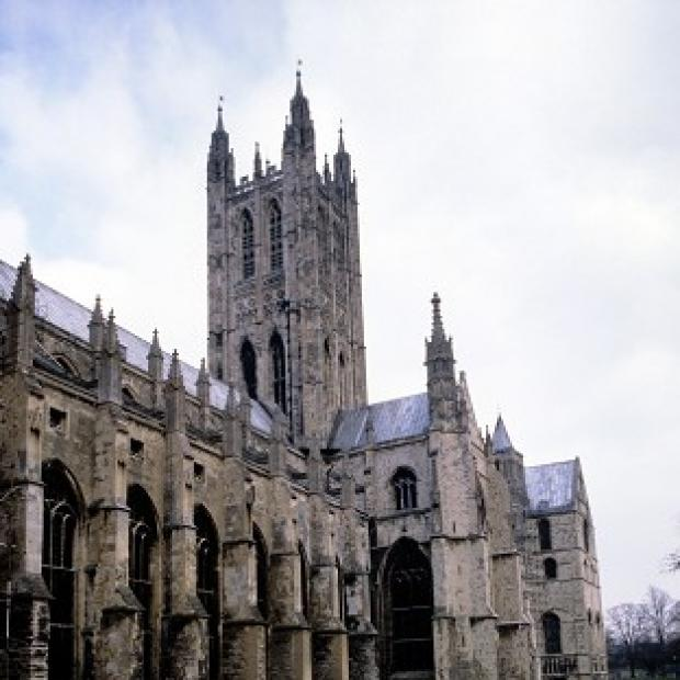 Lancaster And Morecambe Citizen: Canterbury Cathedral has been awarded �11.9 million by the Heritage Lottery Fund.