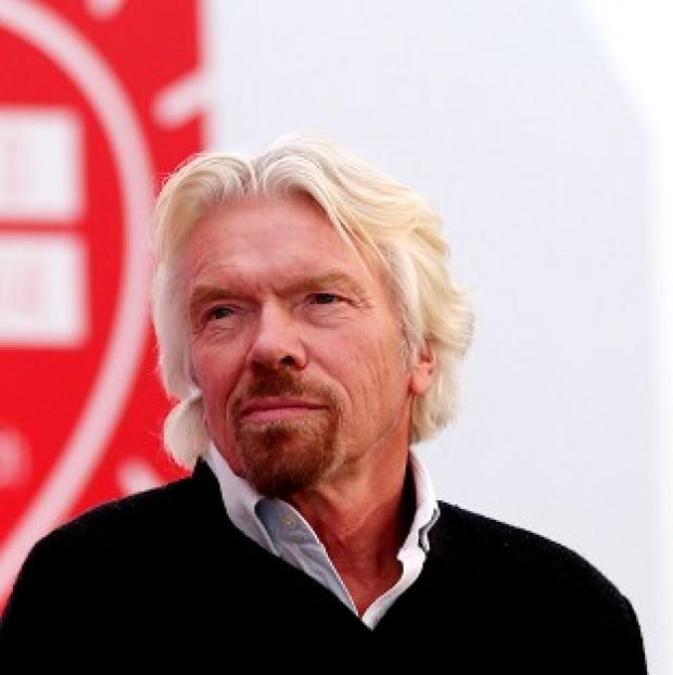 Lancaster And Morecambe Citizen: Virgin boss Sir Richard Branson was sent more than a thousand tweets urging him to block the flight