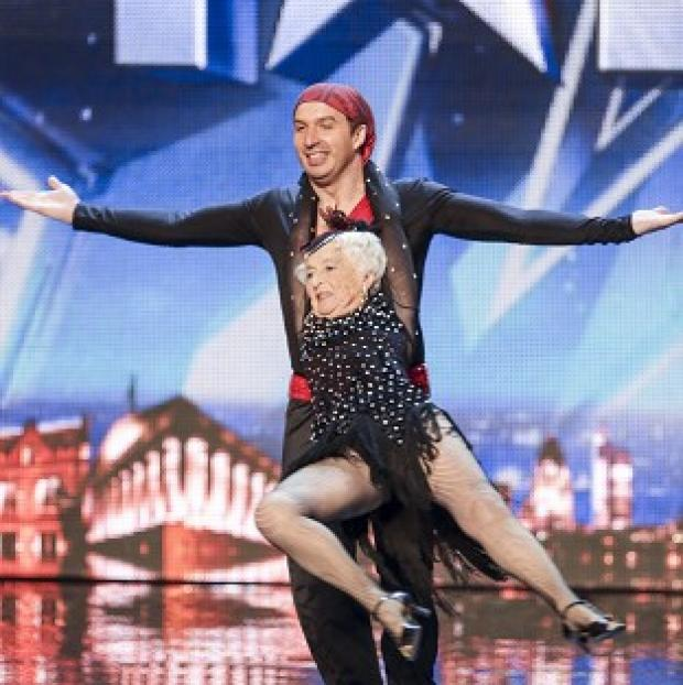 Lancaster And Morecambe Citizen: Paddy has been given the all-clear to perform in Britain's Got Talent with her partner Nico