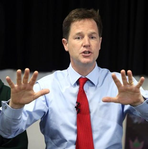 Lancaster And Morecambe Citizen: Just 13% of people thought Nick Clegg was doing a good job, according to a poll