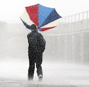 Lancaster And Morecambe Citizen: Heavy, thundery showers have been forecast