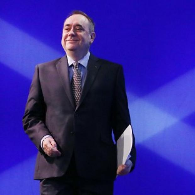 Lancaster And Morecambe Citizen: Alex Salmond is confident of a Yes vote in the independence referendum on September 18