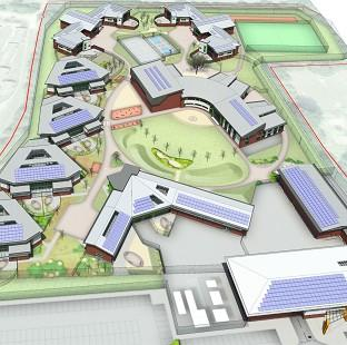 Lancaster And Morecambe Citizen: An artist's impression of a planned 'secure college' for young offenders (Ministry of Justice/PA)