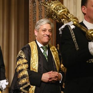 Lancaster And Morecambe Citizen: John Bercow, the Speaker of the House of Commons.