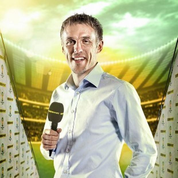 Lancaster And Morecambe Citizen: Phil Neville thanked viewers for their criticism after complaints about his commentary (Andrew Hyyes-Watkins/BBC/PA)