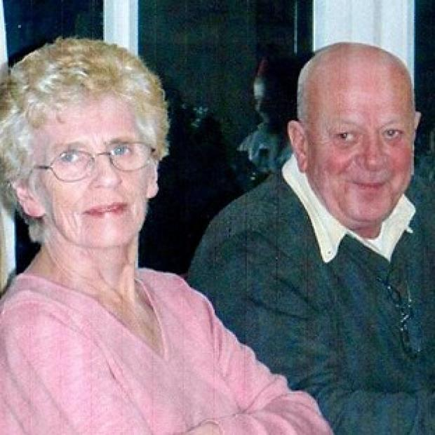 Lancaster And Morecambe Citizen: David Tracey with his wife Janet, who he says was subjected to an unlawful do not resuscitate order