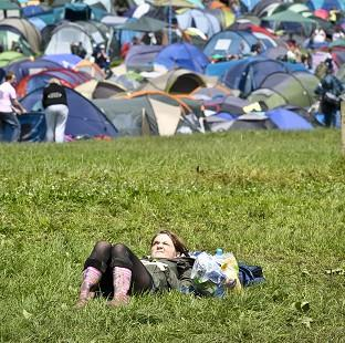 Lancaster And Morecambe Citizen: The sun is set to shine at Glastonbury, according to forecasts
