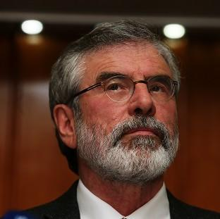 Lancaster And Morecambe Citizen: The paramilitary Ulster Freedom Fighters (UFF) opened fire on the car containing Gerry Adams as it travelled from a Belfast court 30 years ago