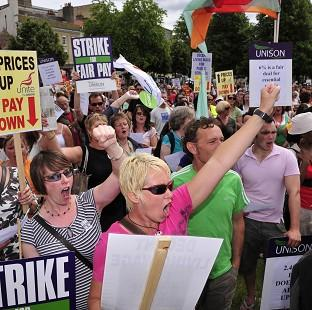 Lancaster And Morecambe Citizen: Trade unions are balloting workers on strike action