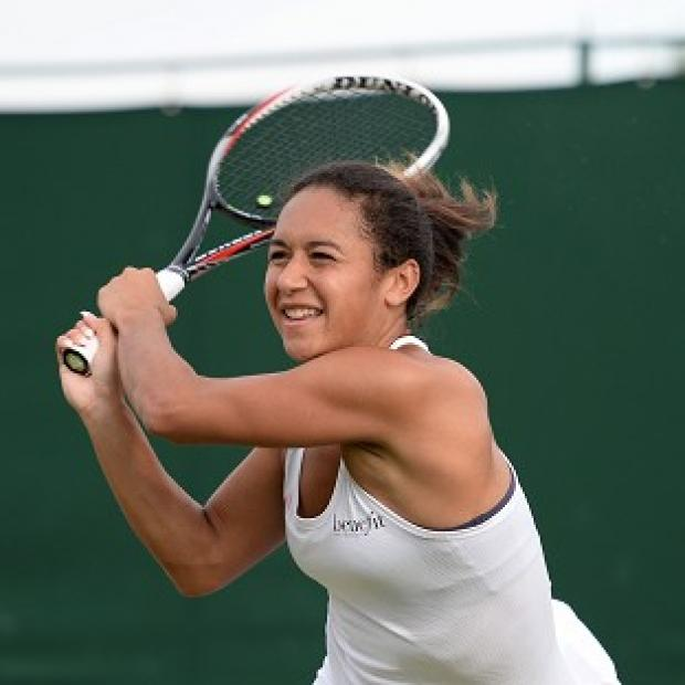 Lancaster And Morecambe Citizen: Great Britain's Heather Watson is on Centre Court