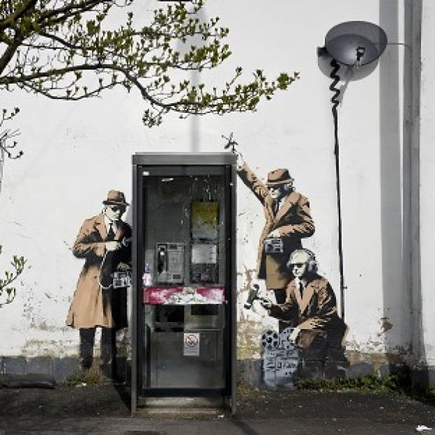 Lancaster And Morecambe Citizen: Plans to remove the Banksy artwork have sparked anger