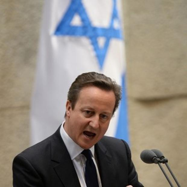 Lancaster And Morecambe Citizen: David Cameron condemned the deaths of three Israeli teenagers