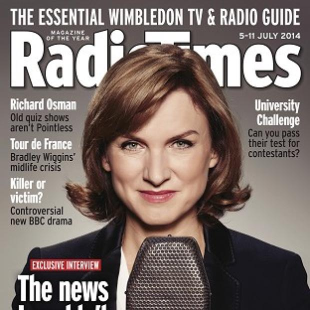Lancaster And Morecambe Citizen: Fiona Bruce is shunning social media