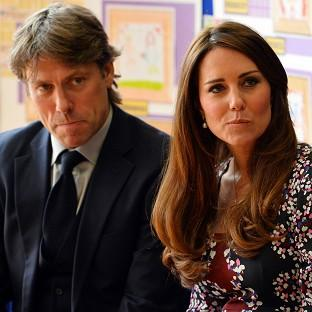 Lancaster And Morecambe Citizen: Kate is visiting the Blessed Sacrament School with comedian John Bishop